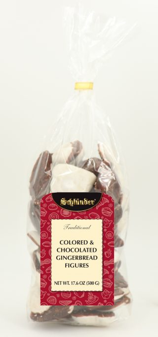 Colored & Chocolated Gingerbread Figures