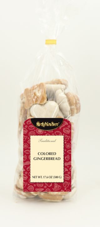 Coloured Gingerbread