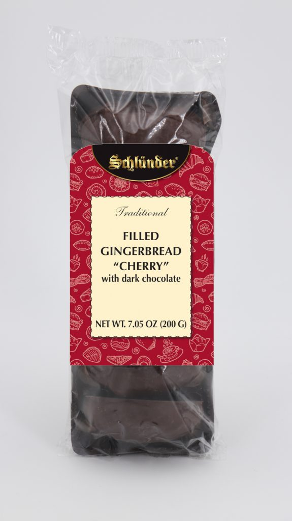 Filled Gingerbread Cherry