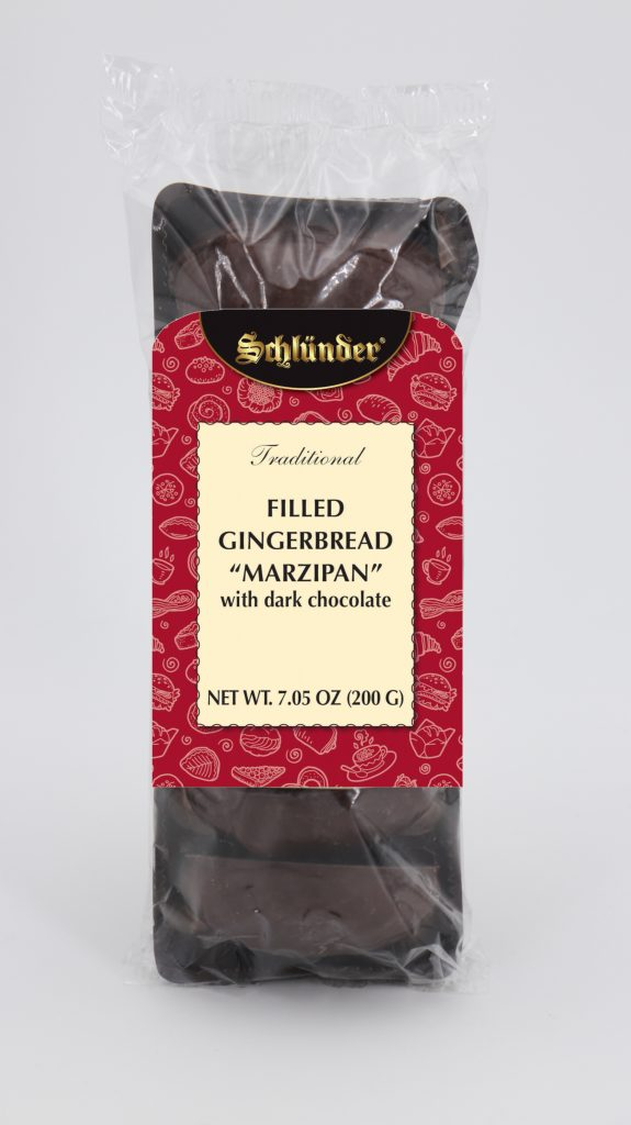 Filled Gingerbread Marzipan