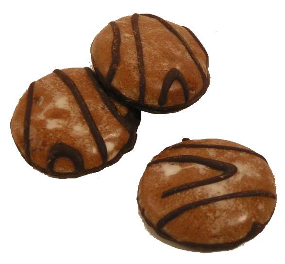 Gingerbread fruit details