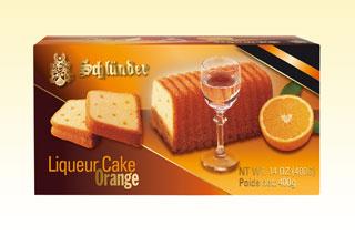 Liqueur Cake Orange