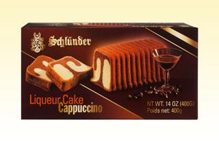 Liqueur Cake Cappuccino
