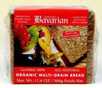 bavarian organic multigrain bread sliced