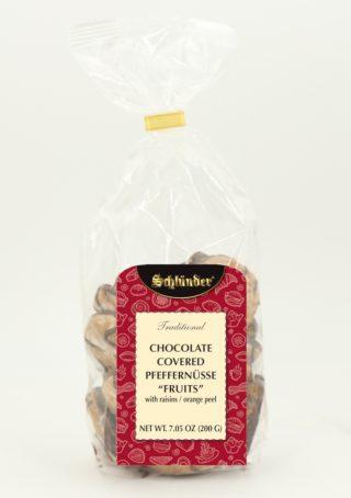 Chocolate Covered Pfeffernüsse Fruits