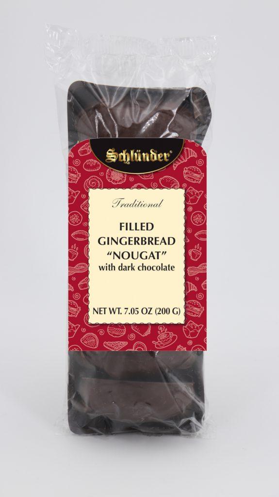 Filled Gingerbread Nougat