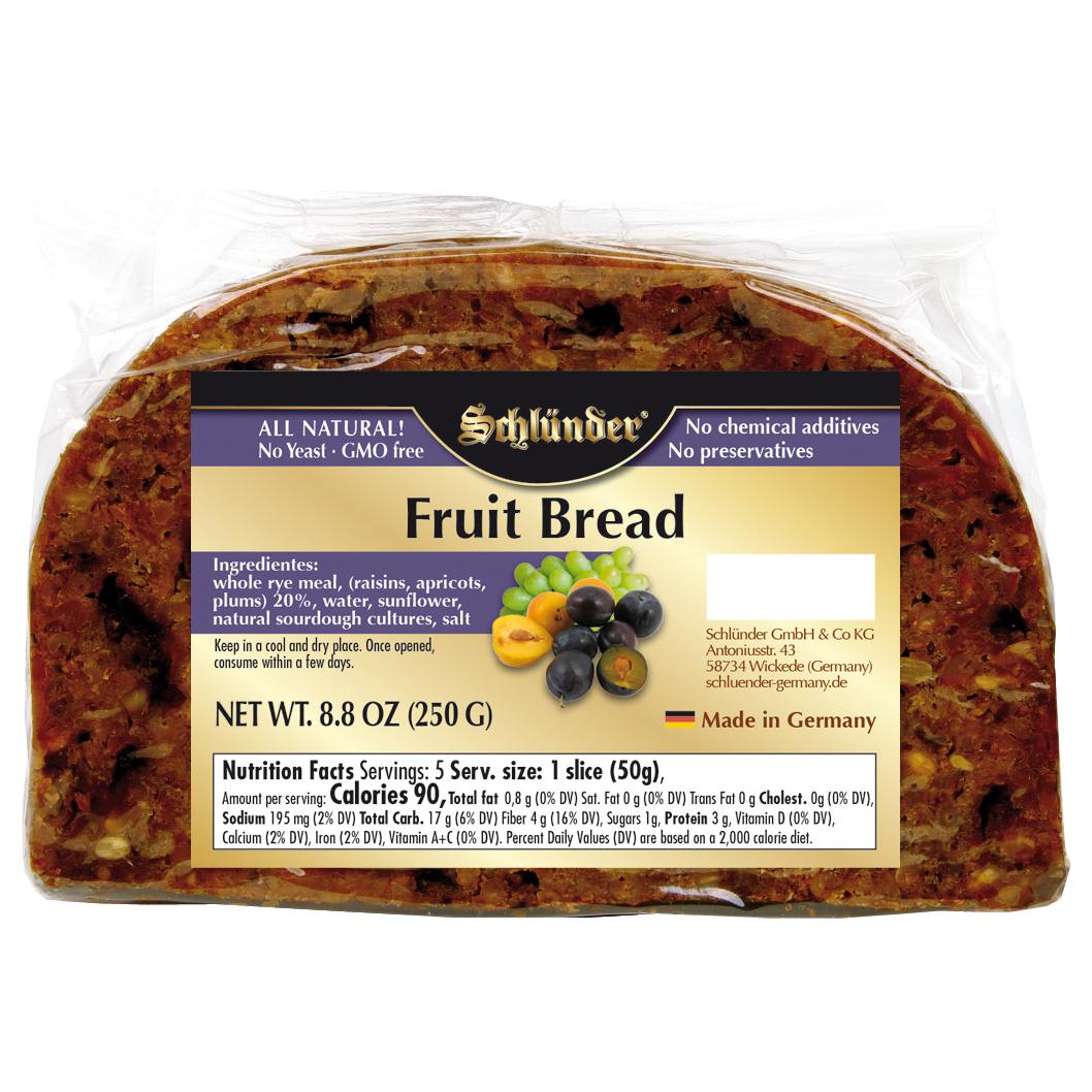 schluender soft fruit bread